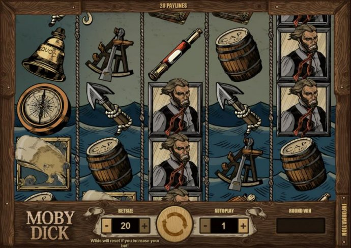 No Deposit Casino Guide image of Moby Dick