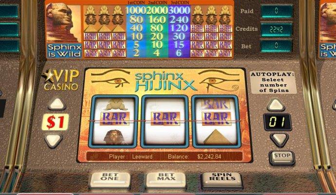 Sphinx Hijinx screenshot