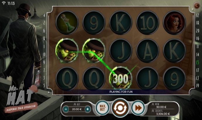 Mr. Hat Before the Sunrise by No Deposit Casino Guide