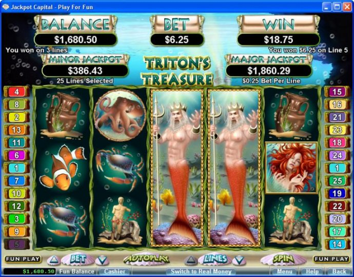 Triton's Treasure screenshot
