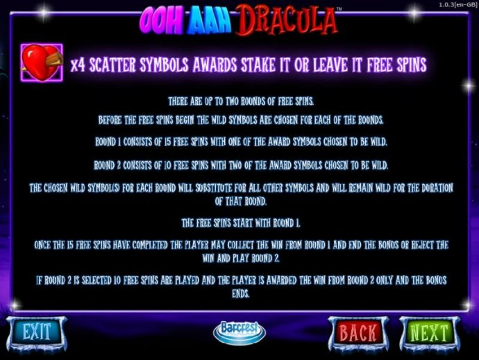 Four scatter symbols awards Stake It or Leave It free spins - No Deposit Casino Guide