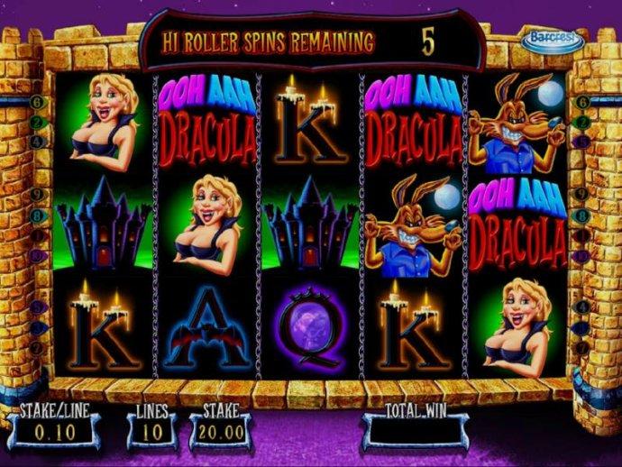 OOH AAH Draclua by No Deposit Casino Guide