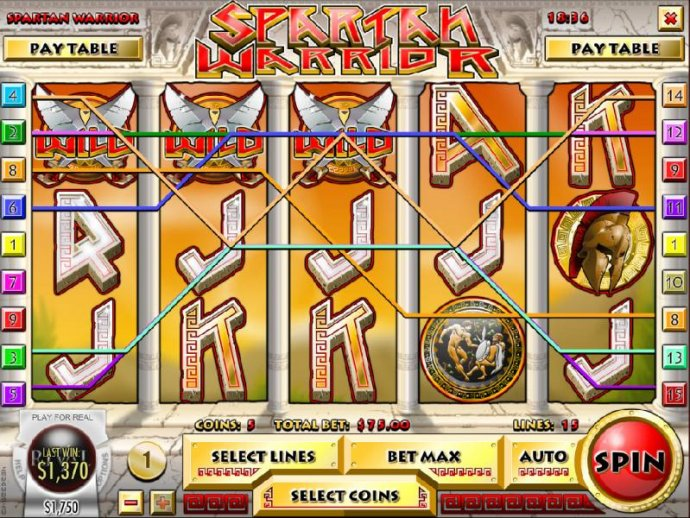 Multiple winning paylines, five of a kind and a $1,370 big win! - No Deposit Casino Guide