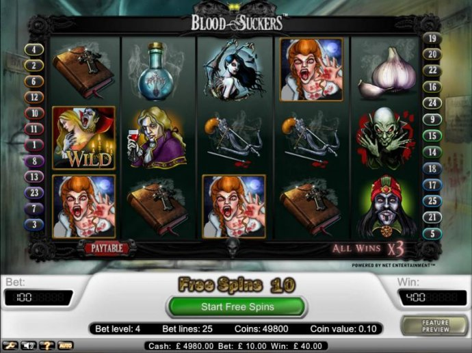 Blood Suckers by No Deposit Casino Guide