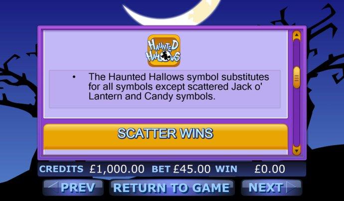 Haunted Hallows screenshot