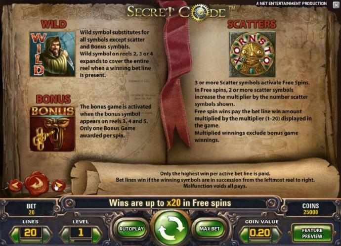 Secret Code screenshot