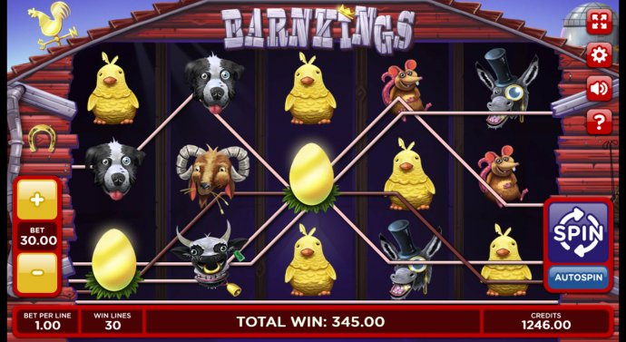 No Deposit Casino Guide image of Barn Kings 2