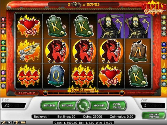 Devil's Delight by No Deposit Casino Guide