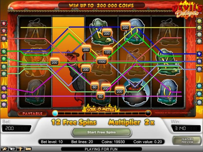 jackpots are multiplied during free game bonus - No Deposit Casino Guide