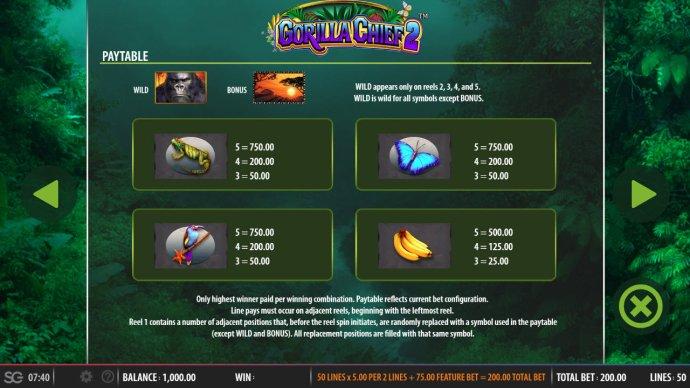 Gorilla Chief II screenshot