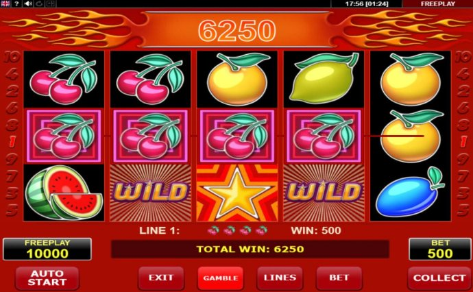 No Deposit Casino Guide image of Hot Star