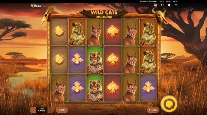 Wild Cats Multiline screenshot