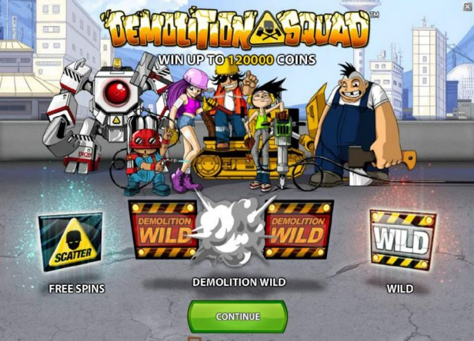 Demolition Squad by No Deposit Casino Guide