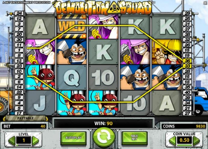 No Deposit Casino Guide image of Demolition Squad