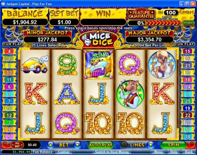 Mice Dice screenshot