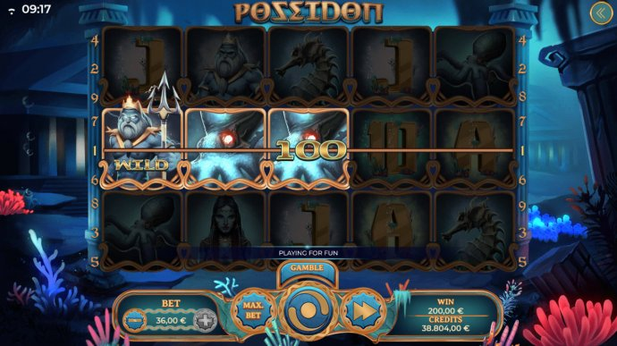Poseidon by No Deposit Casino Guide