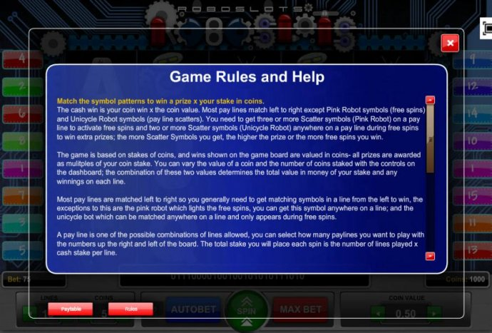 Game Rules and Help - Part 1 by No Deposit Casino Guide
