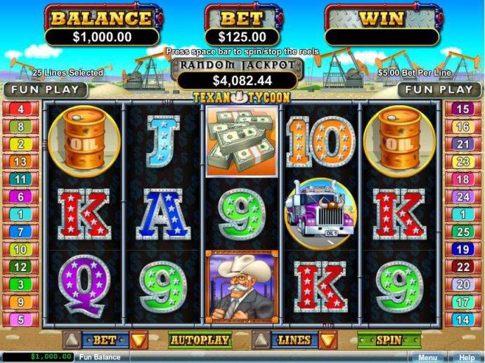 No Deposit Casino Guide image of Texan Tycoon
