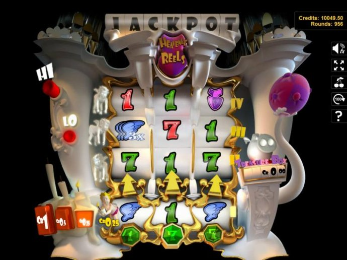 No Deposit Casino Guide image of Heavenly Reels