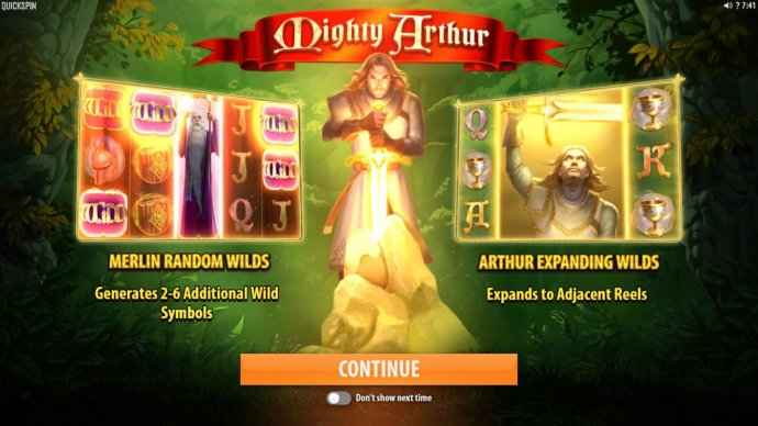 Mighty Arthur by No Deposit Casino Guide