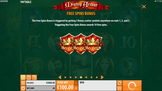 Free Spins Bonus Game Rules by No Deposit Casino Guide