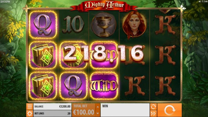 No Deposit Casino Guide image of Mighty Arthur