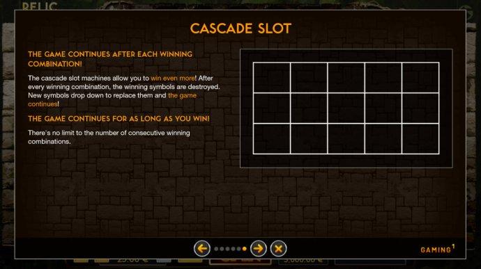 No Deposit Casino Guide - Cascading Reels