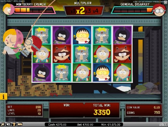 With each non-winning spin during the bonus feature, your enemy gets a chance to hit you, zapping your life meter. - No Deposit Casino Guide