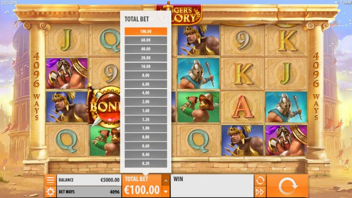 Tiger's Glory by No Deposit Casino Guide