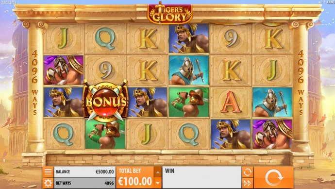 No Deposit Casino Guide image of Tiger's Glory