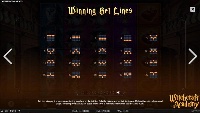 Paylines 1-20 - No Deposit Casino Guide
