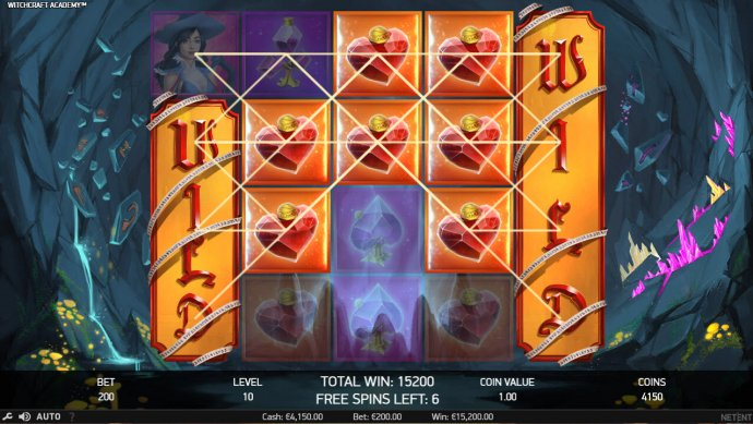 Multiple winning paylines triggers a big win by No Deposit Casino Guide