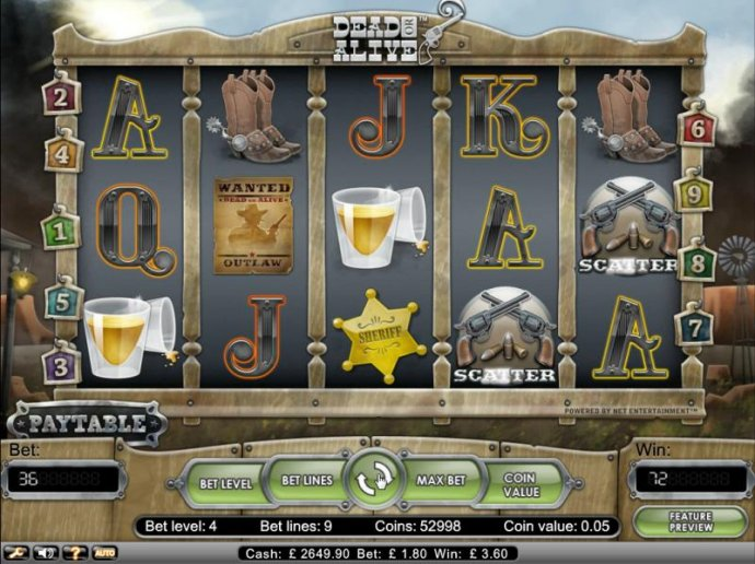 Dead or Alive by No Deposit Casino Guide