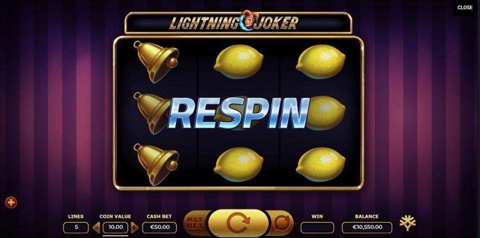 Lightning Joker screenshot