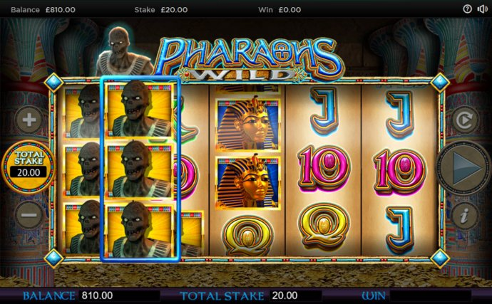 No Deposit Casino Guide image of Pharaoh's Wild