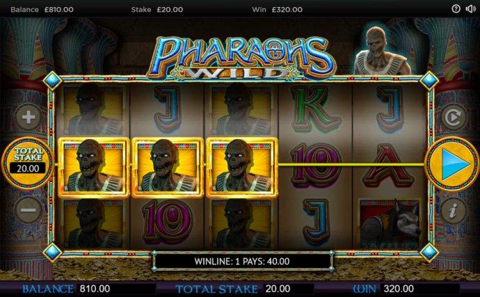 Pharaoh's Wild by No Deposit Casino Guide