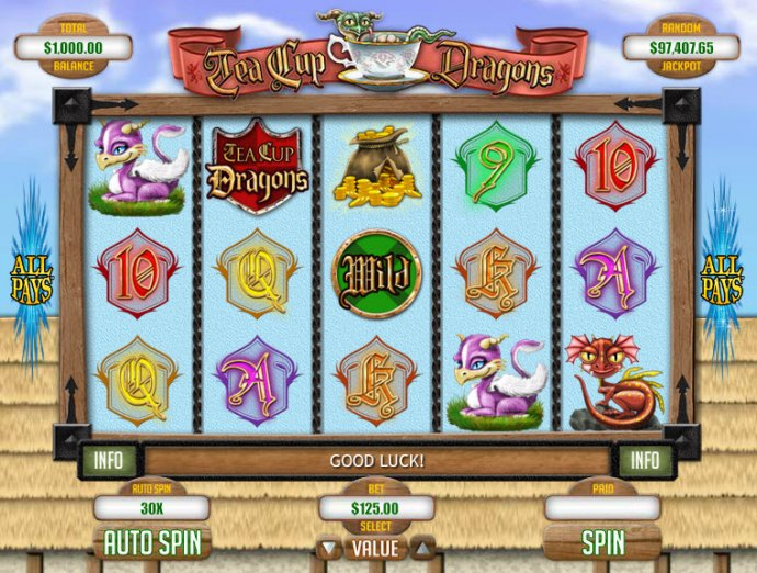 No Deposit Casino Guide image of Tea Cup Dragons