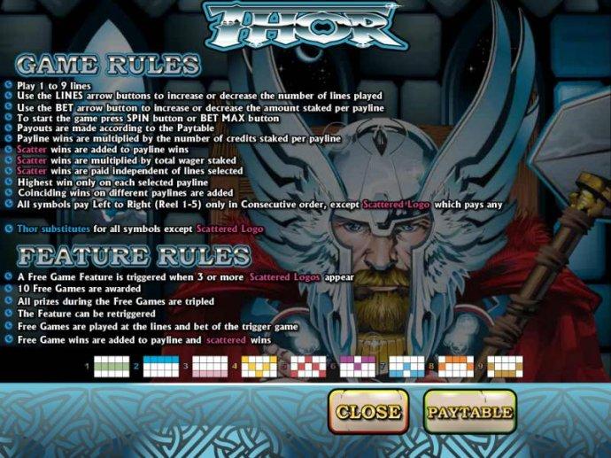 Thor screenshot
