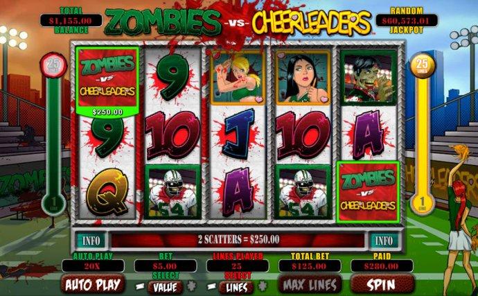 Zombies vs Cheerleaders by No Deposit Casino Guide