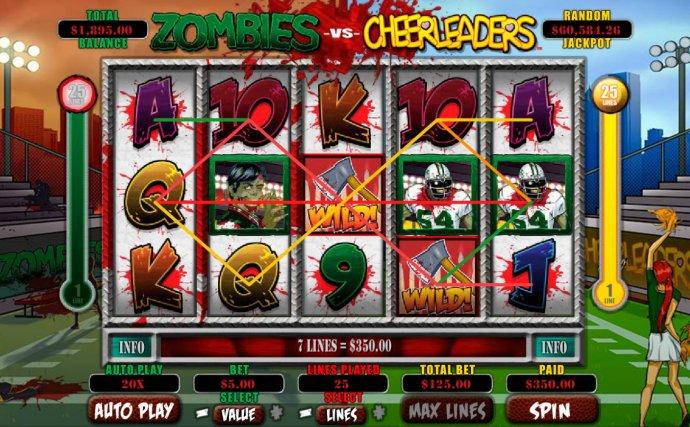 No Deposit Casino Guide image of Zombies vs Cheerleaders