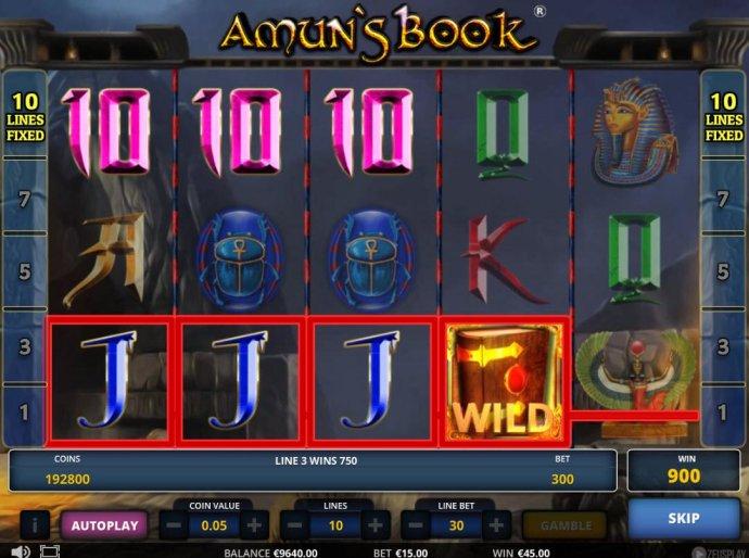 Amun's Book screenshot