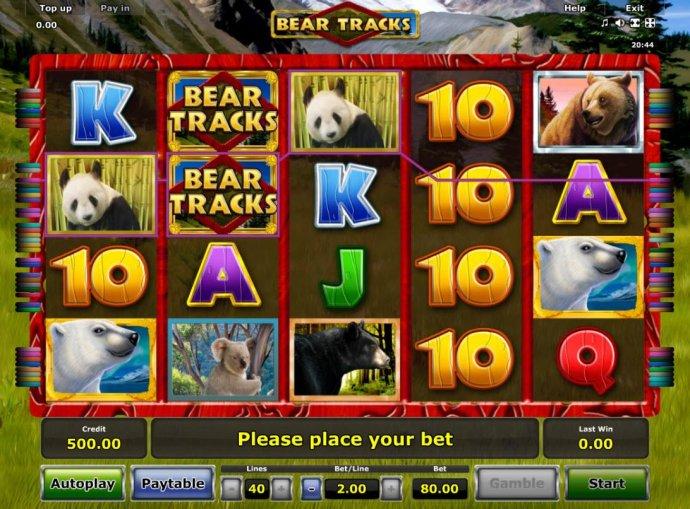 No Deposit Casino Guide image of Bear Tracks