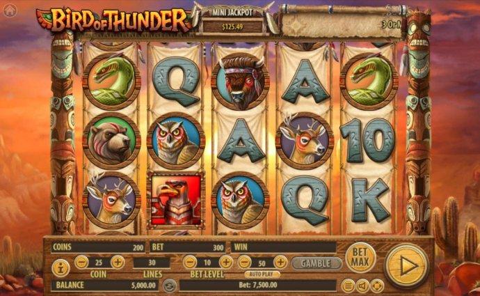 No Deposit Casino Guide image of Bird of Thunder