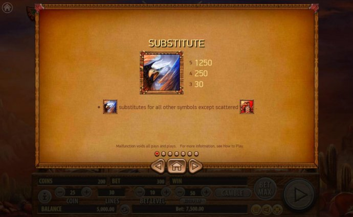 No Deposit Casino Guide - Screaming eagle substitutes for all other symbols except scattered eagle totem.