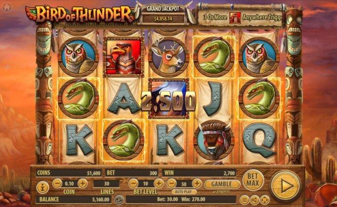 Bird of Thunder by No Deposit Casino Guide