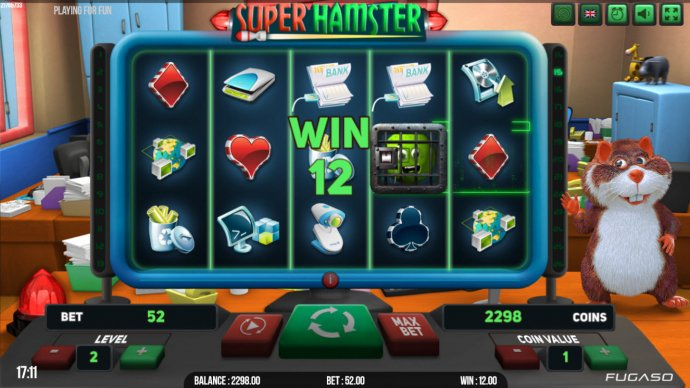 Super Hamster by No Deposit Casino Guide