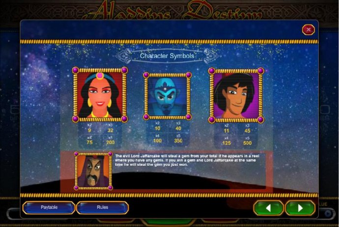 Aladdin's Destiny screenshot