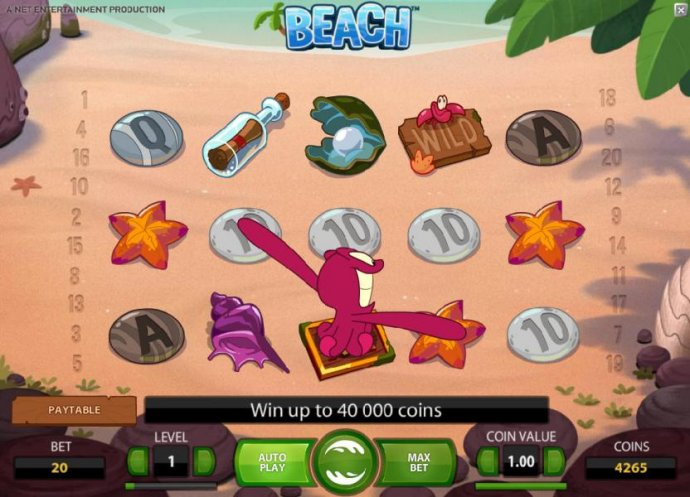 octopus wild is swapping the star and ten symbols - No Deposit Casino Guide