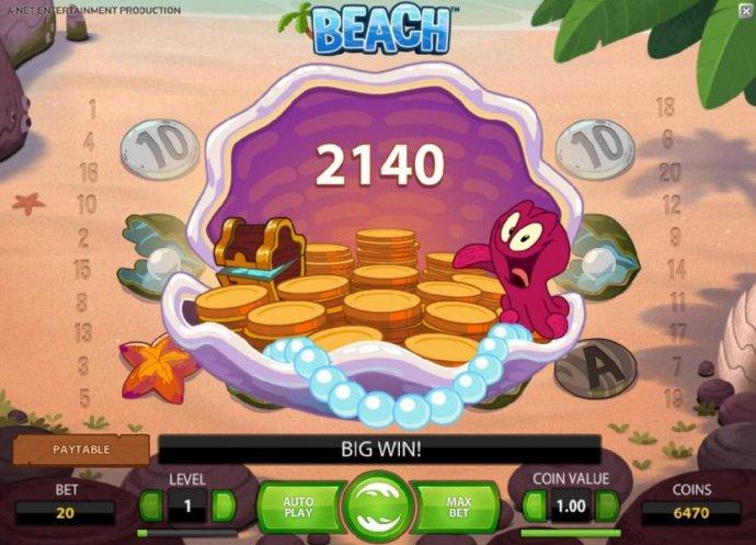 Beach screenshot