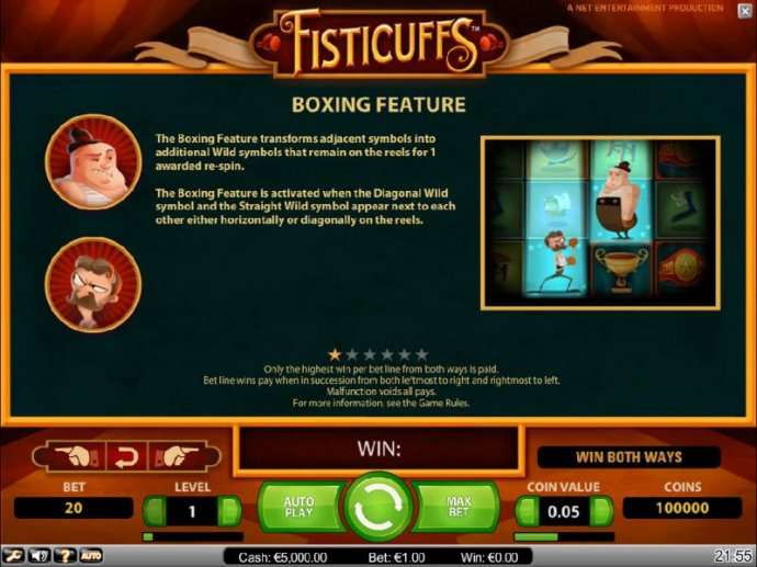 Fisticuffs by No Deposit Casino Guide